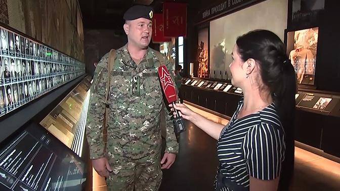 «Мы благодарны за проект»: военнослужащий поделился впечатлениями от посещения «Дороги памяти»