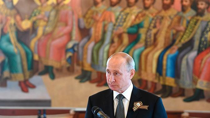 Путин заявил о вере в Россию среди своего окружения