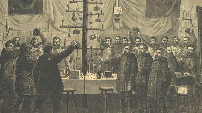 Австро-Венгерская экспедиция на Северный полюс на Рождество<figcaption class=