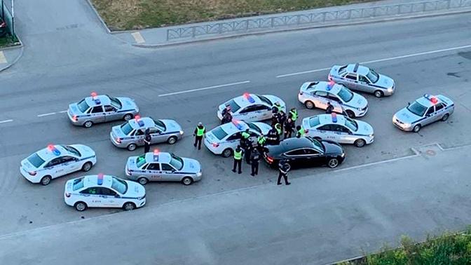 Уральский форсаж: нетрезвый автолюбитель «собрал» 11 экипажей ГИБДД