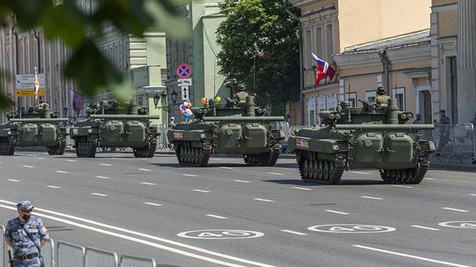 В Москве перекроют часть улиц для возвращения военной техники после Парада Победы
