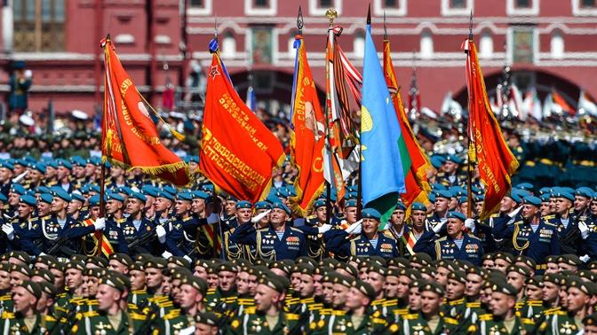 Парад Победы в фотографиях: как это было