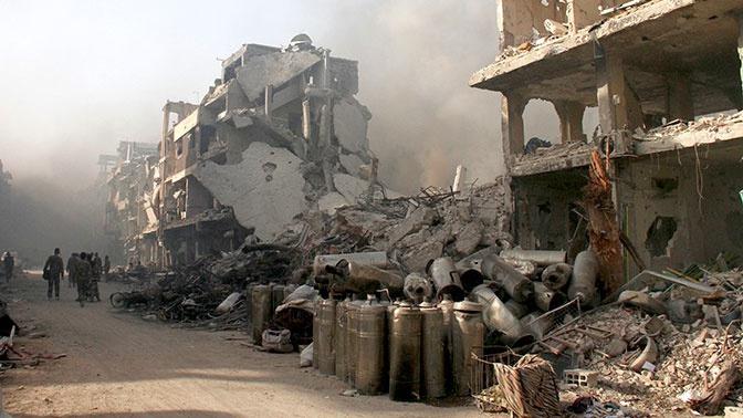Боевики в Сирии обстреляли населенный пункт в Идлибе