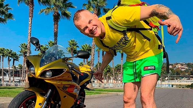 Российский блогер разбился на мотоцикле в Тамбовской области
