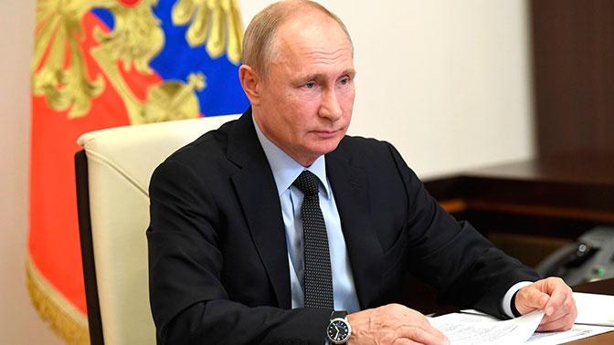Путин рассказал о своих результатах тестов на COVID-19