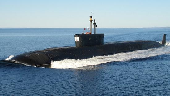 Атомная подлодка «Князь Владимир» вышла в море для перебазирования