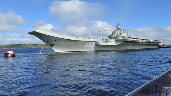 ОСК заключила контракт на строительство сухого дока для «Адмирала Кузнецова»