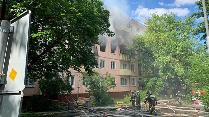 СК назвал причины взрыва в пятиэтажке на северо-востоке Москве