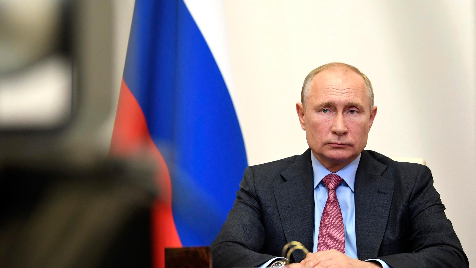 Путин сегодня выступит с обращением к россиянам