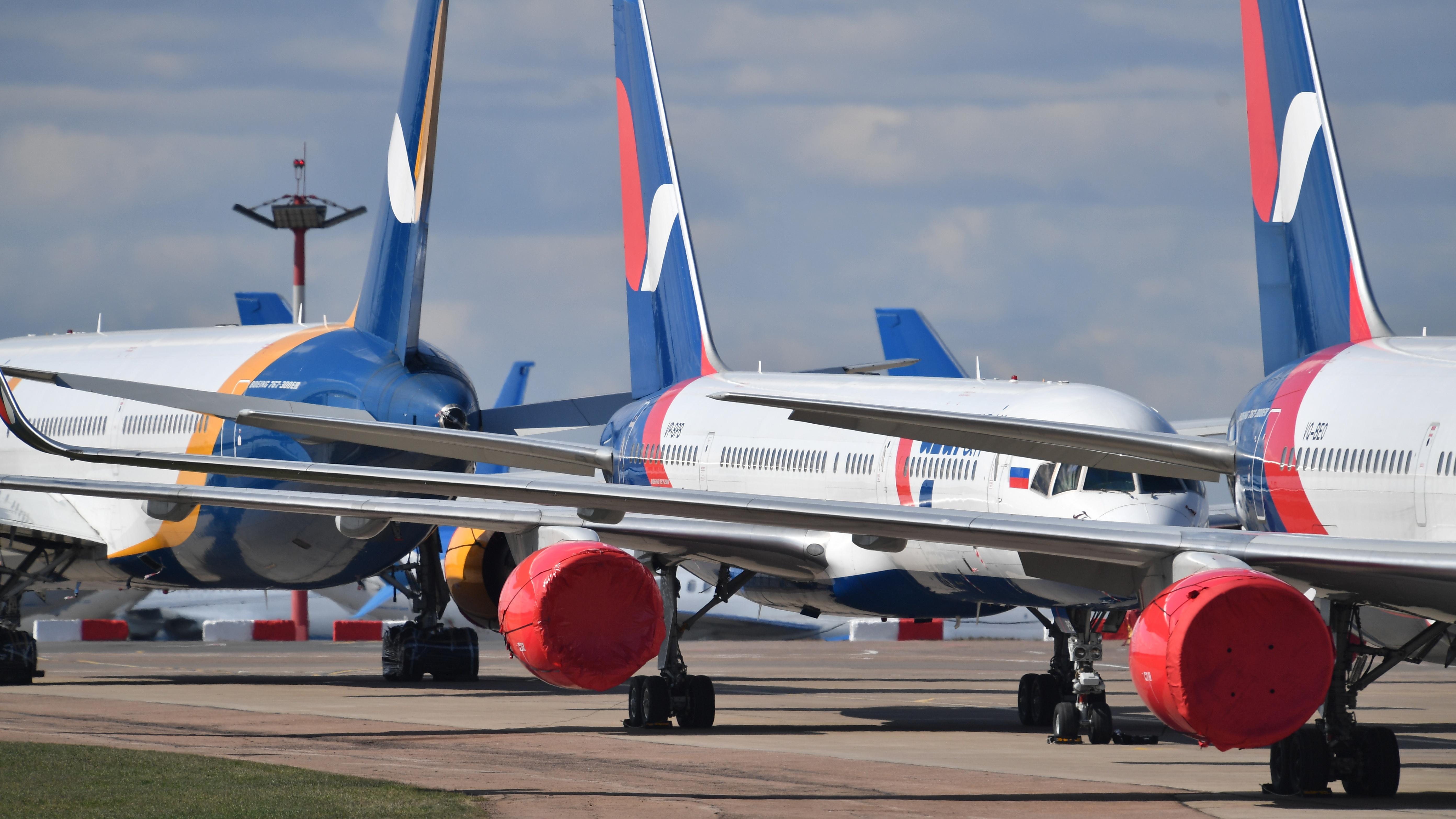 СМИ: Росавиация продлила ограничения на международные полеты