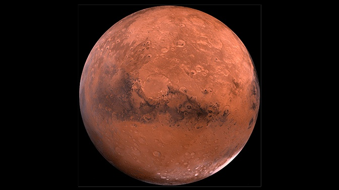 Внеземная красота: ESA опубликовало видео полета над кратером Королева на Марсе