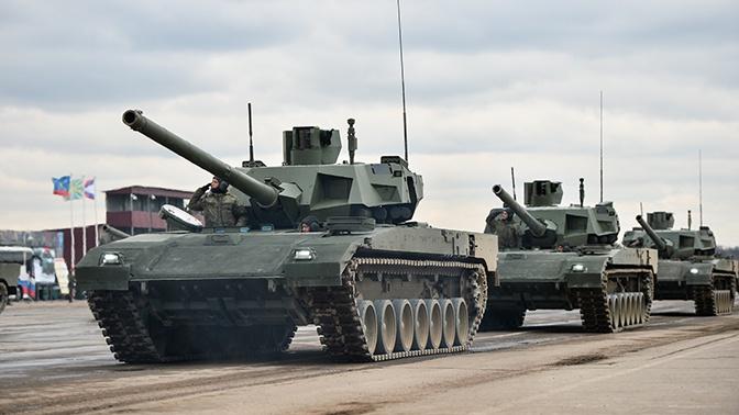 СМИ сообщили об испытания танка Т-14  «Армата» в беспилотном режиме