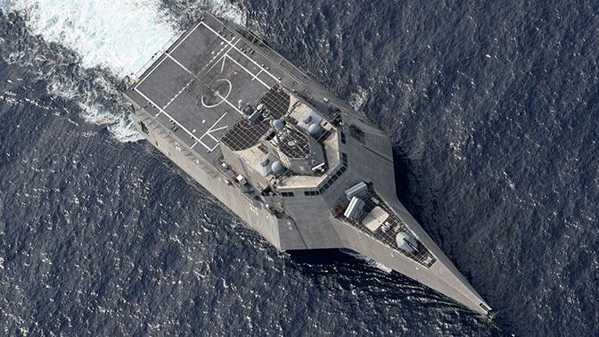 СМИ: ВМС США «потеряли» одну из восьми стелс-ракет