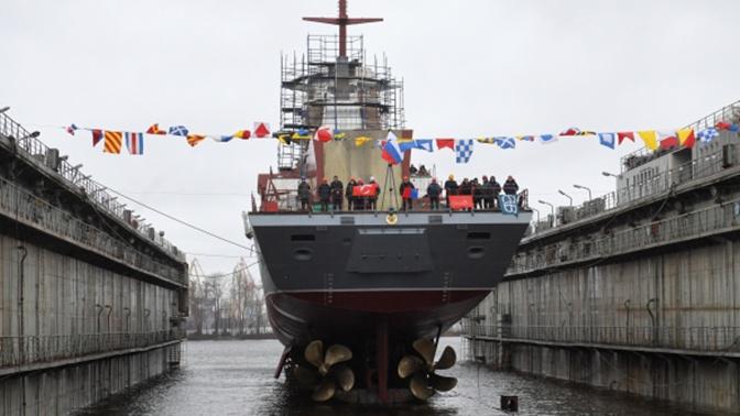 В 2020 году состав ВМФ России пополнят 40 кораблей и судов