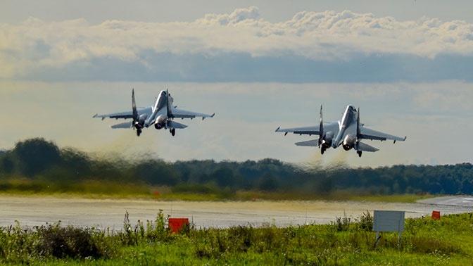 Морская авиация прибыла на аэродромы ЗВО для участия в Главном военно-морском параде