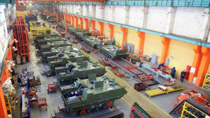 Производитель БМП: Курганмашзавод отмечает 70-летие