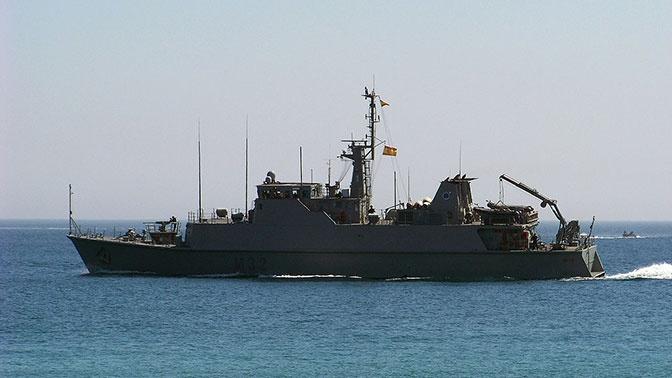 Черноморский флот приступил к слежению за группой кораблей НАТО