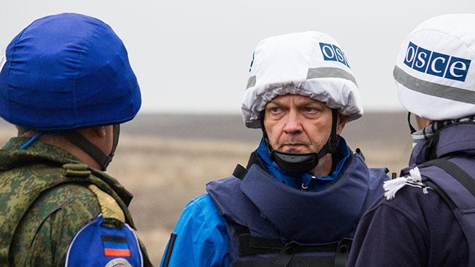 Киев раздумывает над введением миротворцев ОБСЕ в Донбасс