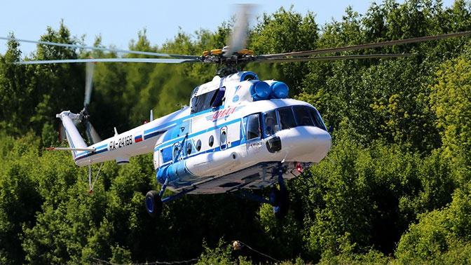 Авиакомпании «Ямал» передали два вертолета Ми-8МТВ-1
