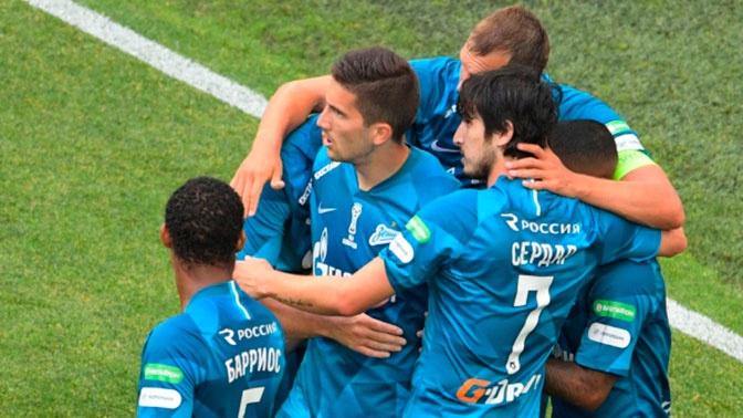 «Зенит» обыграл «Сочи» в первом матче после чемпионства