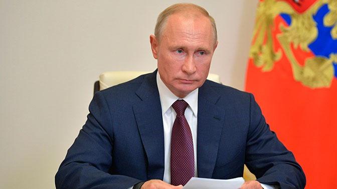 Путин: Россия будет спокойно отставить свои интересы в продолжающемся мировом противостоянии