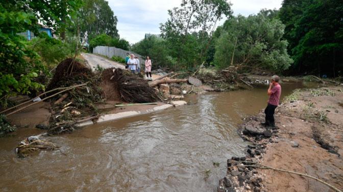 Поврежденный из-за потопа в Рузе участок Волоколамского шоссе откроют 10 июля