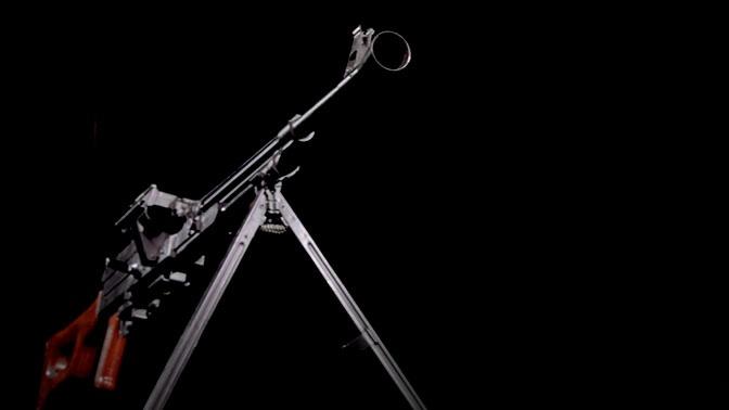 Неизвестный ранее прототип пулемета Калашникова показали на видео