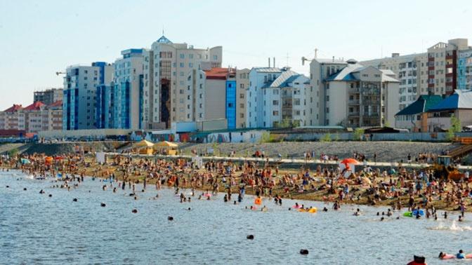 Городской пляж откроют в Якутске