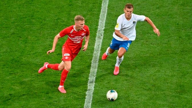 Футболисты «Cпартака» уступили «Сочи» в 28-м туре РПЛ
