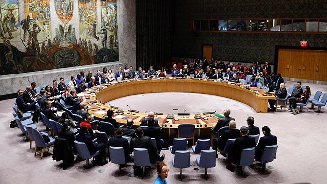 СБ ООН не принял вторую резолюцию России о КПП на границе Сирии и Турции