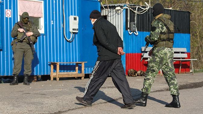 Киев анонсировал обмен пленными в Донбассе
