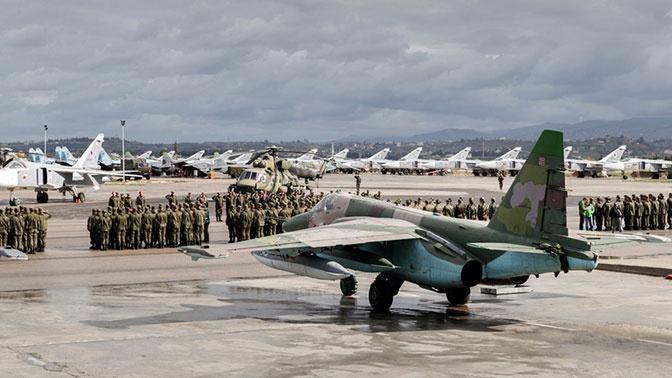 Боевики попытались атаковать российскую базу Хмеймим с помощью БПЛА
