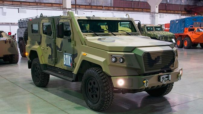 В России создали новый легкий бронеавтомобиль «Стрела»