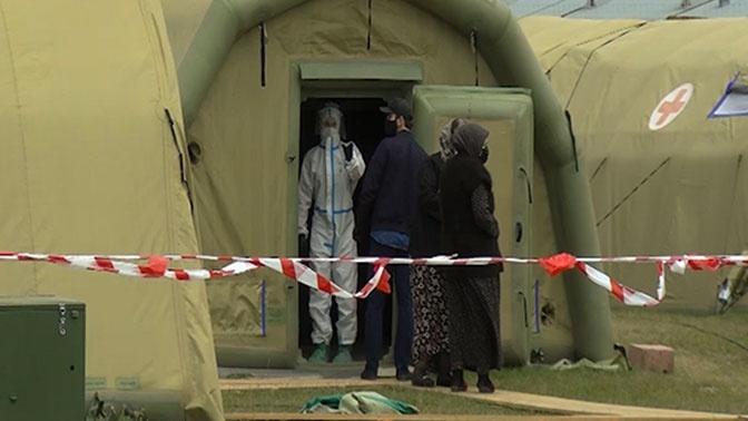 Помогавшие в борьбе с коронавирусом военнослужащие ЗВО вернулись из Дагестана