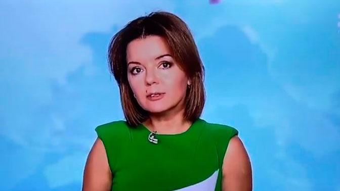 Не растерялась: у украинской телеведущей во время эфира выпал зуб