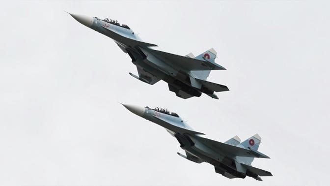 Истребители Су-30 ВВС Армении вышли на дежурство по защите границ
