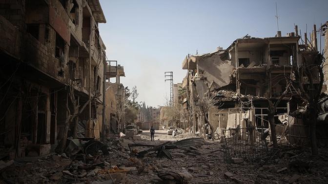 МИД РФ: США в Сирии тренируют боевиков в «зоне безопасности» Ат-Танфа