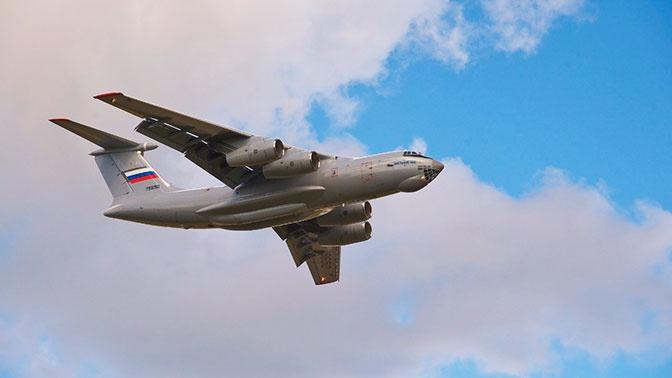 Военно-транспортная авиация МО РФ локализовала природный пожар в Оренбургской области
