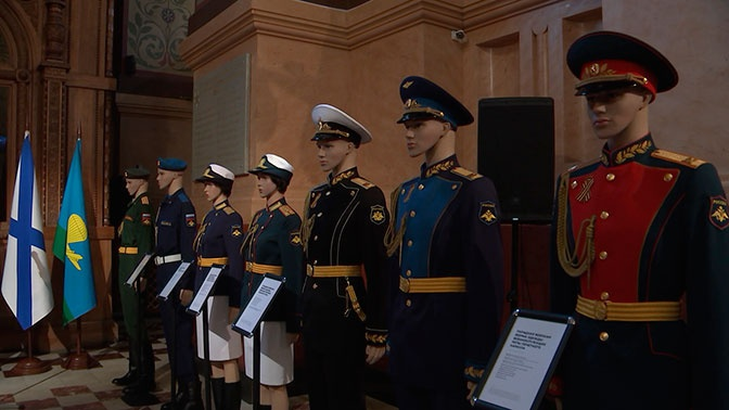 Выставка формы участников парада к 75-летию Победы открылась в Историческом музее