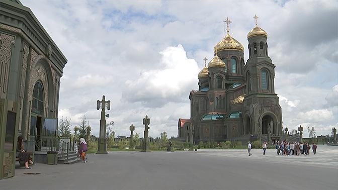 В Главный храм ВС РФ прибыли представители ведущих туроператоров России