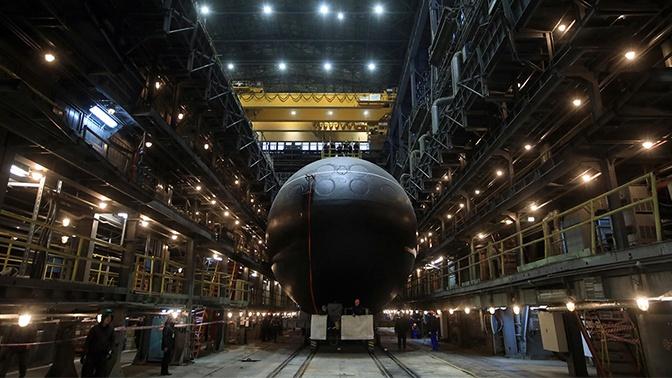 Подводная лодка «Волхов» завершила ходовые испытания