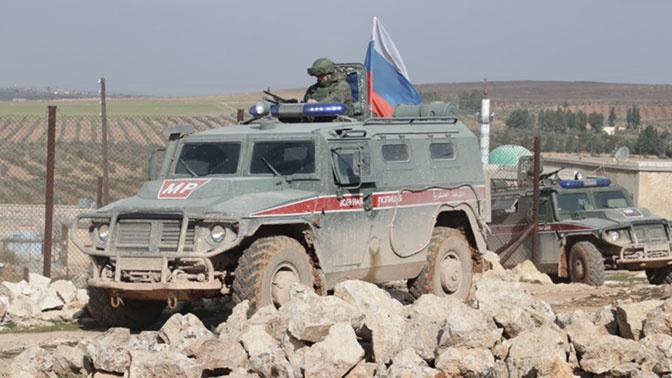 Российские военные провели патрулирование в провинциях Алеппо и Ракка