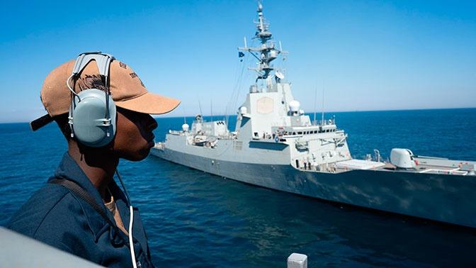 Пять кораблей НАТО зашли в порт Одессы в ходу учений Sea Breeze
