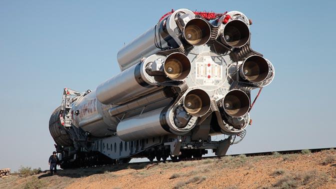 В Роскосмосе сообщили время запуска «Протона»