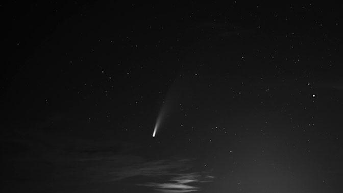 На Канарские острова упал метеорит