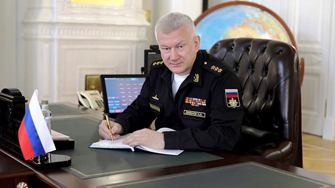 Главком ВМФ России Евменов совершил рабочую поездку в Северодвинск