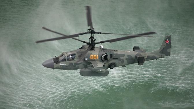 Новые российские вертолетоносцы вооружат ударными вертолетами Ка-52К «Катран»