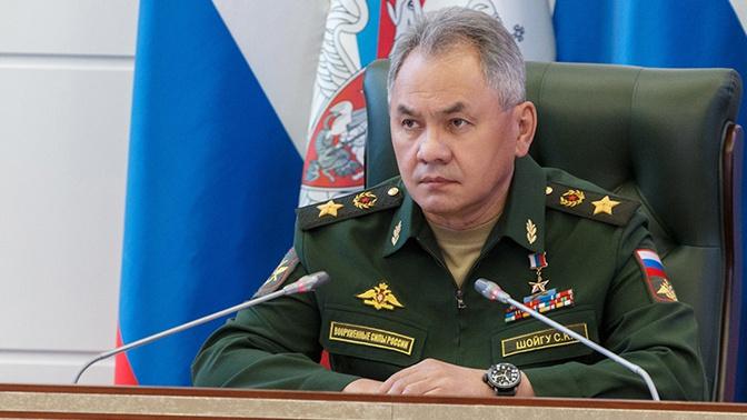 Шойгу поздравил военнослужащих с Днем Тыла ВС РФ