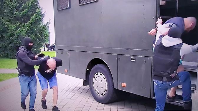 МИД РФ потребовал немедленного освобождения задержанных в Белоруссии россиян
