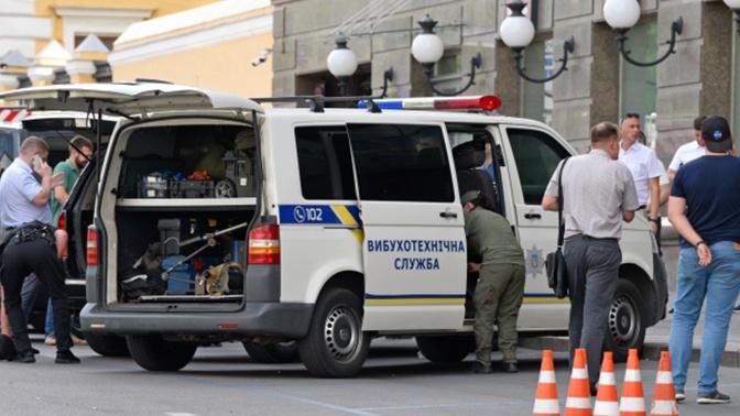 МВД Украины: захвативший заложника в Киеве террорист страдает от «олигофрении»